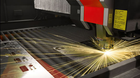 Corte a laser fibra